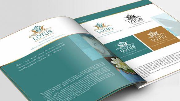 Создание фирменного стиля для международной школы LOTUS © Креативное агентство KENGURU
