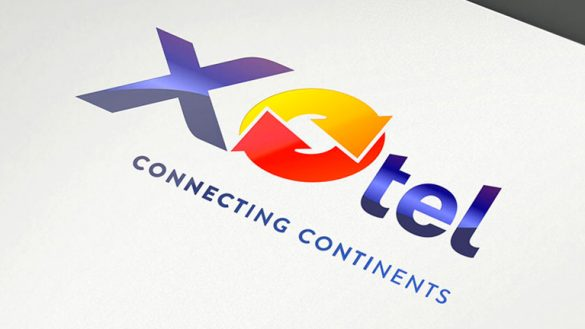 Разработка логотипа Xotel © Креативное агентство KENGURU