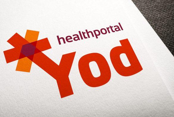 Разработка логотипа для YOD © Креативное агентство KENGURU