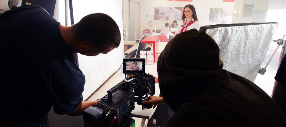 Съемка видеоролика