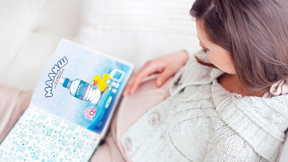 """Создание рекламы питьевой воды """"Малыш"""" © Креативное агентство KENGURU"""