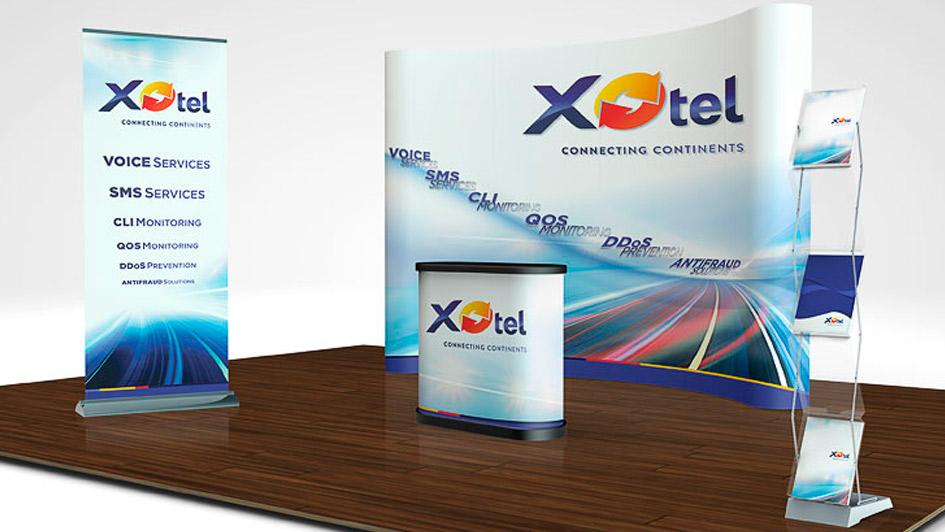 Разработка сувенирной продукции с логотипом Xotel © Креативное агентство KENGURU