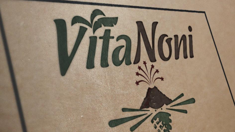 Создание упаковки с логотипом VitaNoni © Креативное агентство KENGURU