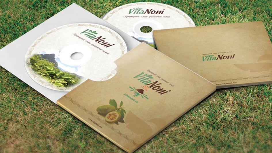 Разработка рекламной продукции уникального сока VitaNoni © Креативное агентство KENGURU