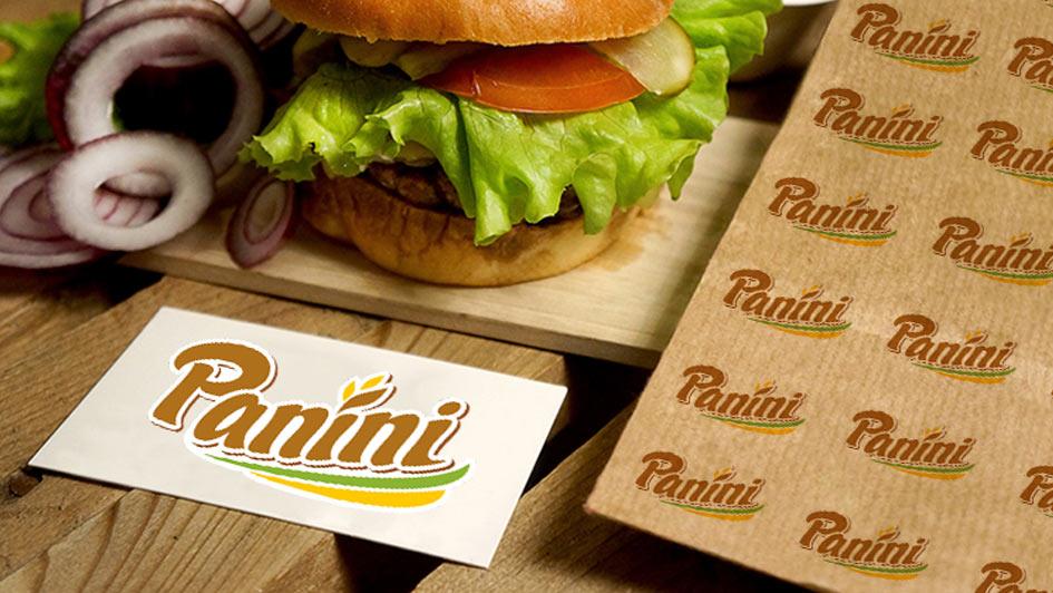 Использование логотипа в дизайне упаковки Panini © Креативное агентство KENGURU