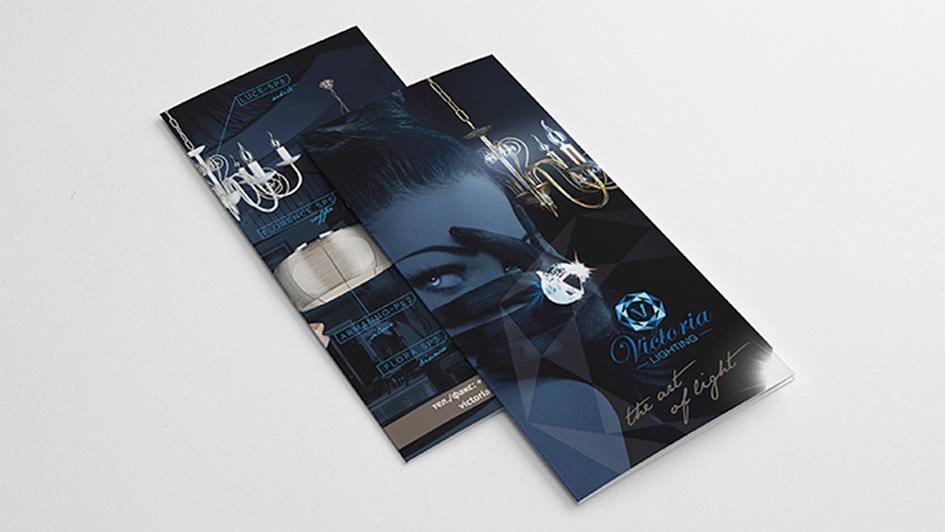 Создание буклета в стиле бренда © Креативное агентство KENGURU
