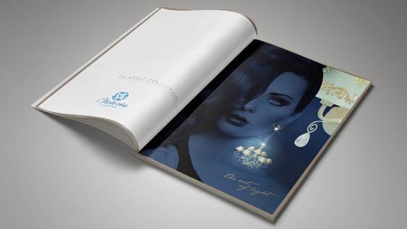 Дизайн страниц в стиле бренда для каталога © Креативное агентство KENGURU