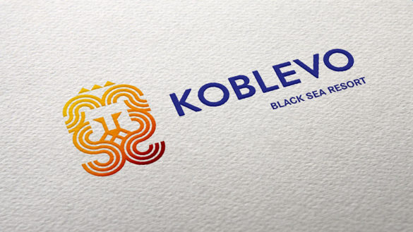 Разработка логотипа KOBLEVO © Креативное агентство KENGURU