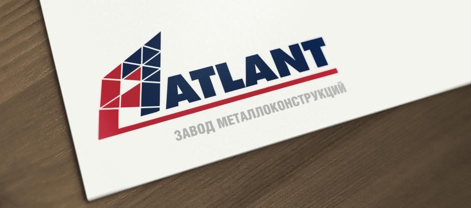 Разработка логотипа для компании Atlant © Креативное агентство KENGURU