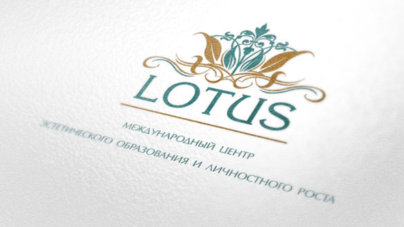 Создание логотипа для международной школы эстетики и стиля Lotus © Креативное агентство KENGURU