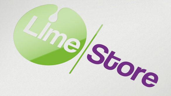 Создание логотипа центра продаж и сервиса LimeStore © Креативное агентство KENGURU