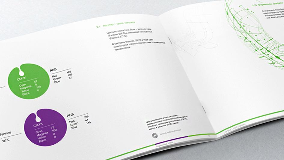 Разработка бренда LimeStore © Креативное агентство KENGURU