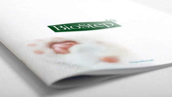 Разработка брендбука для компании BioStep © Креативное агентство KENGURU