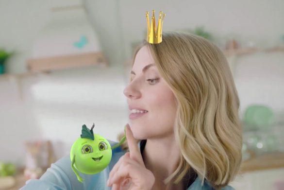 ТВ-ролик с персонажной анимацией для ТМ Овощная сказка © Креативное агентство KENGURU