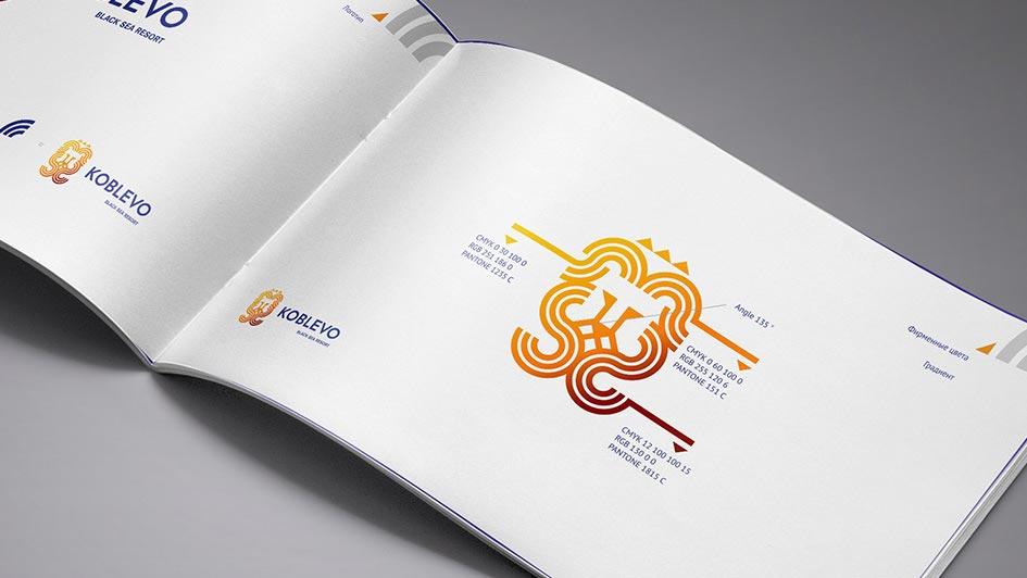 Создание логотипа KOBLEVO © Креативное агентство KENGURU
