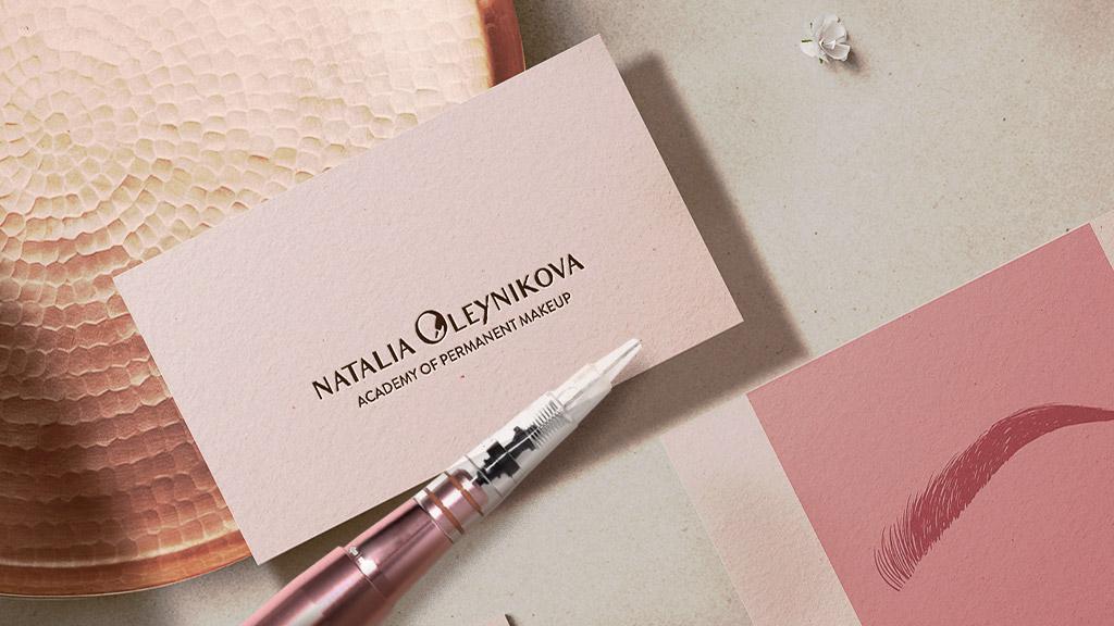 Разработка бренда для Наталии Олейниковой