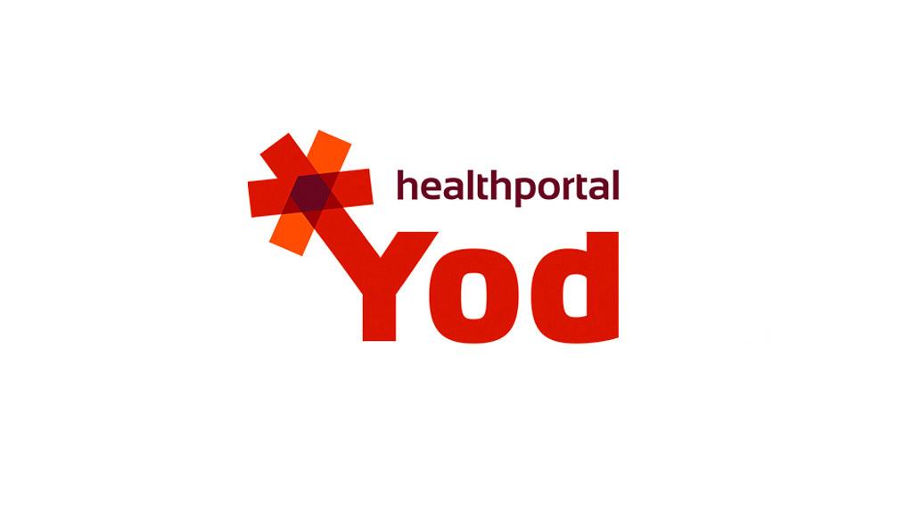 создание логотипа YOD