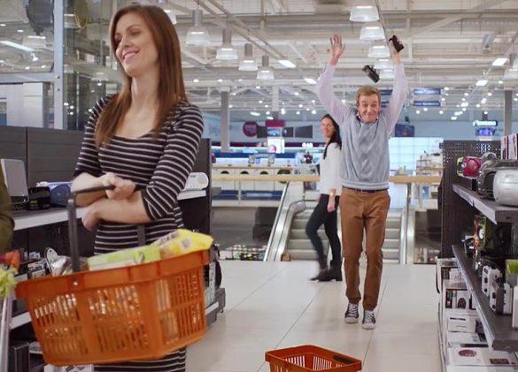 ТВ-ролик. СМСФИНАНС. Супермаркет © Креативное агентство KENGURU