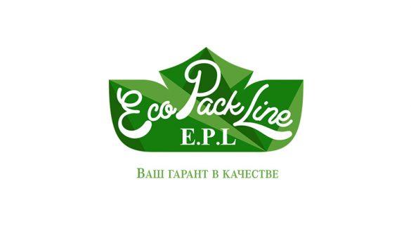 Разработка логотипа EcoPackLine © Креативное агентство KENGURU