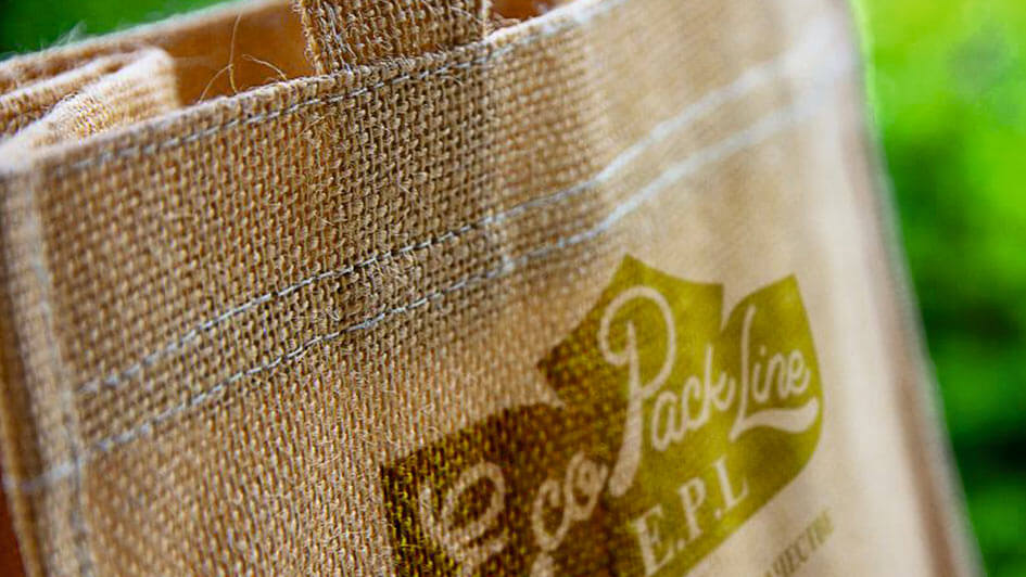 Эко-сумка от EcoPackLine. Создание фирменного стиля © Креативное агентство KENGURU