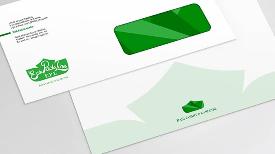 Письма EcoPackLine в фирменном стиле © Креативное агентство KENGURU