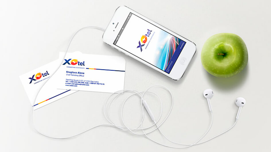 Создание фирменного стиля для Xotel © Креативное агентство KENGURU