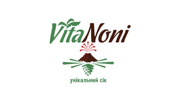 Разработка логотипа для компании VitaNoni © Креативное агентство KENGURU