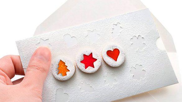 Разработка фирменной новогодней открытки MEGABANK © Креативное агентство KENGURU