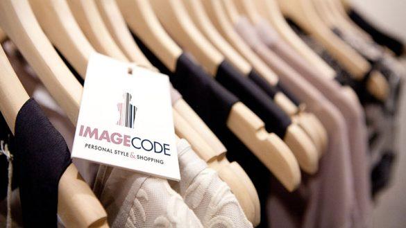 Разработка фирменной бирки для одежды IMAGE Code © Креативное агентство KENGURU