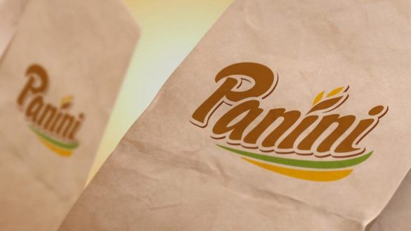 Логотип на упаковке Panini © Креативное агентство KENGURU