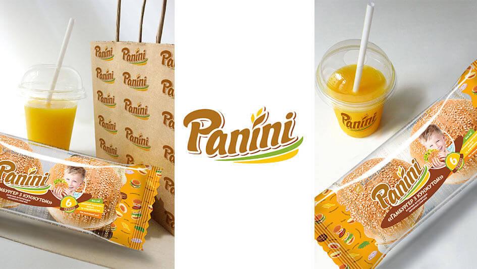 Разработка упаковки гамбургера ТМ Panini © Креативное агентство KENGURU