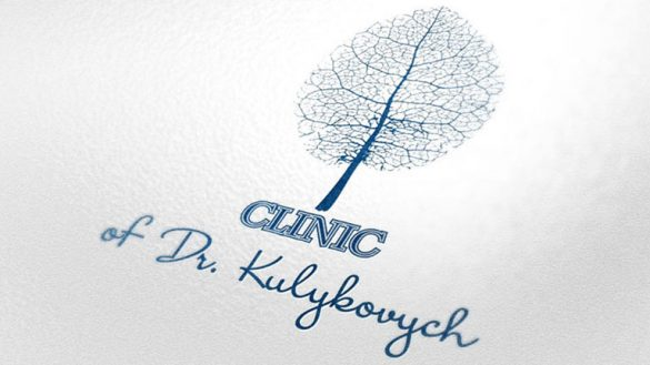 Разработка логотипа клиники д-р.Куликовича © Креативное агентство KENGURU