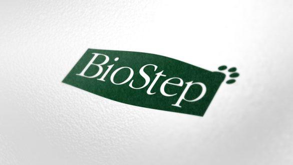 Создание логотипа BioStep © Креативное агентство KENGURU