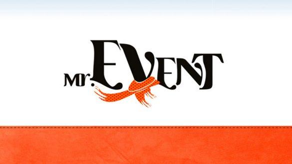 "Разработка логотипа ""Мистер Event"" © Креативное агентство KENGURU"