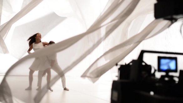 Танцевальные съемки фильма для компании Синта-Д с участниками шоу Танцуют Все! © Креативное агентство KENGURU
