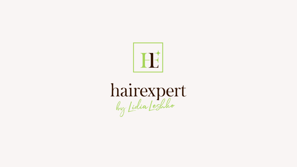 Разработка логотипа для школы-студии эстетики волос