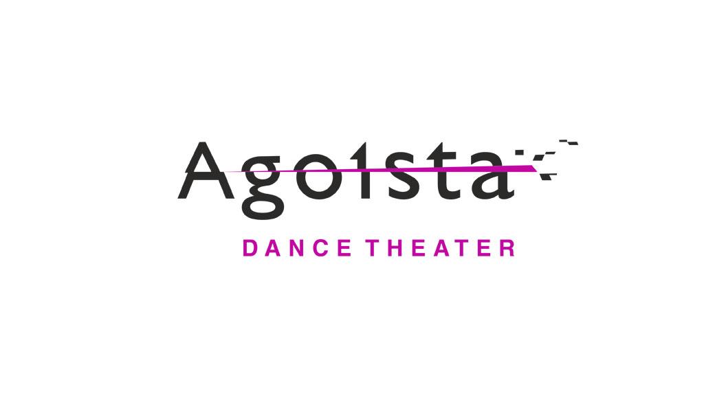 логотип для театра танца Agoista © Креативное агентство KENGURU