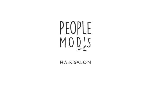 Разработка логотипа для салона красоты People Mods © Креативное агентство KENGURU