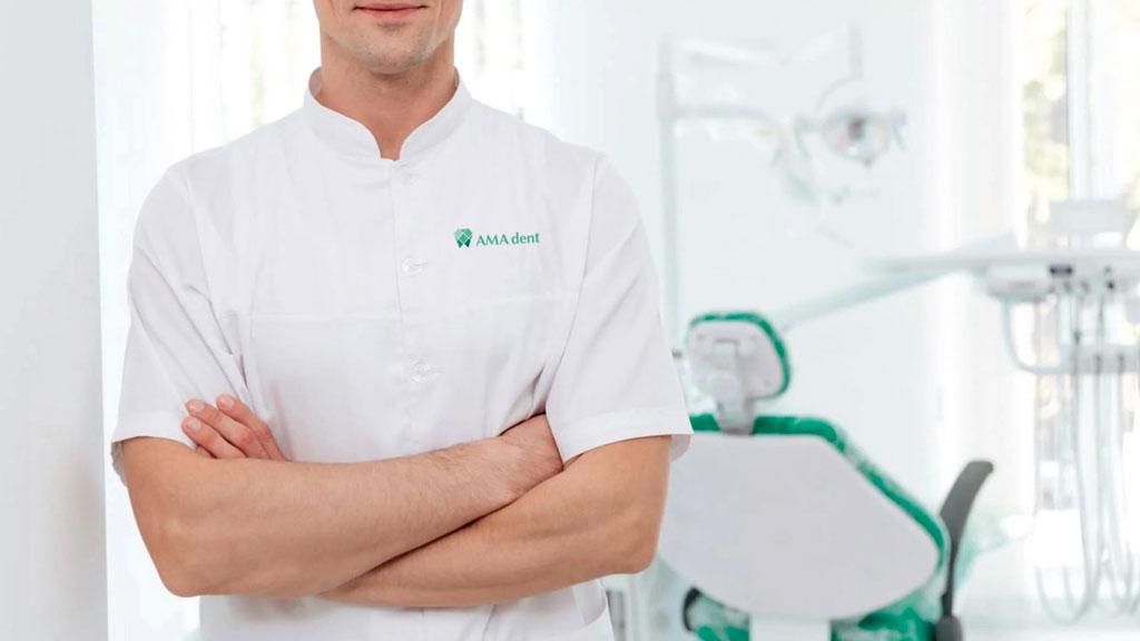 AMA dent medical cloth branding