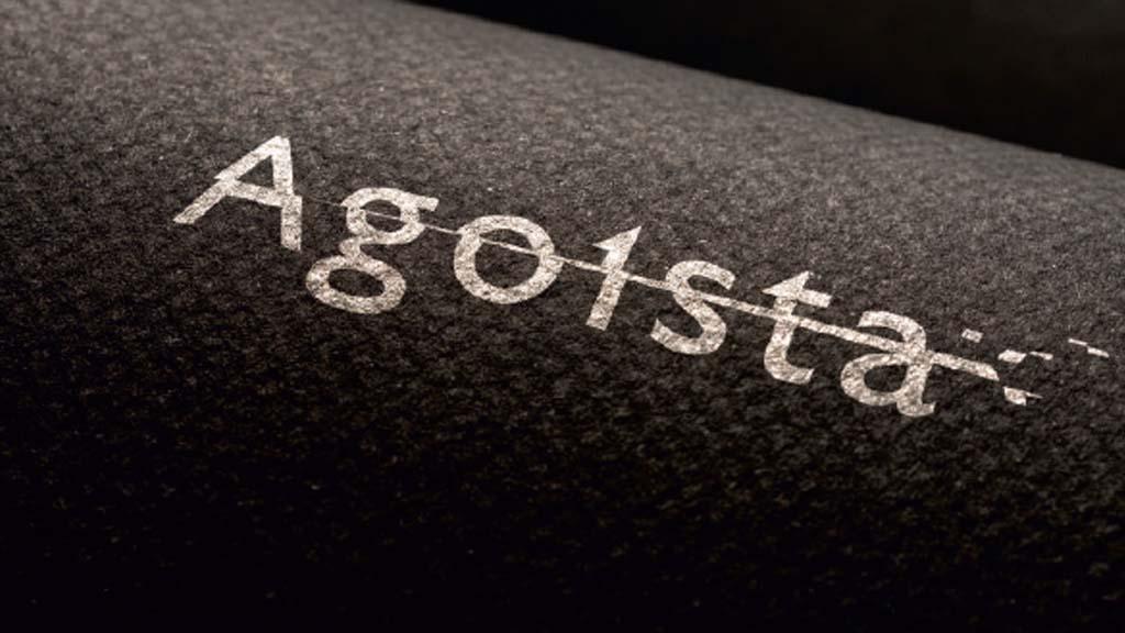 создание логотипа Agoista