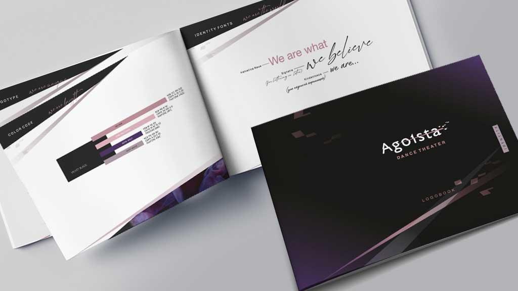 brand book visualization