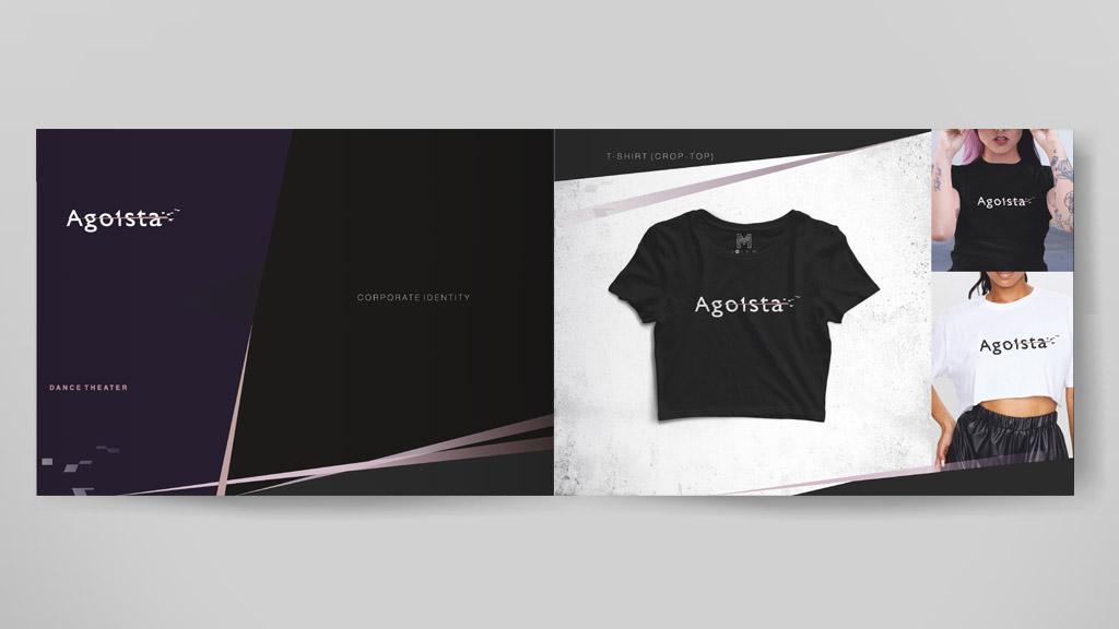 Agoista brand book sheets