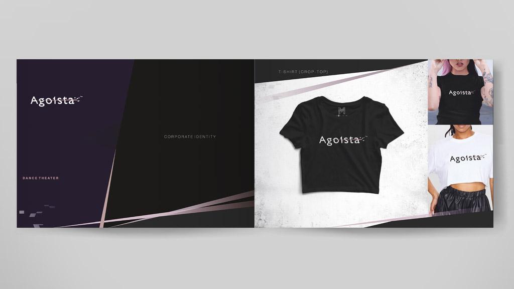 страница брендбука Agoista