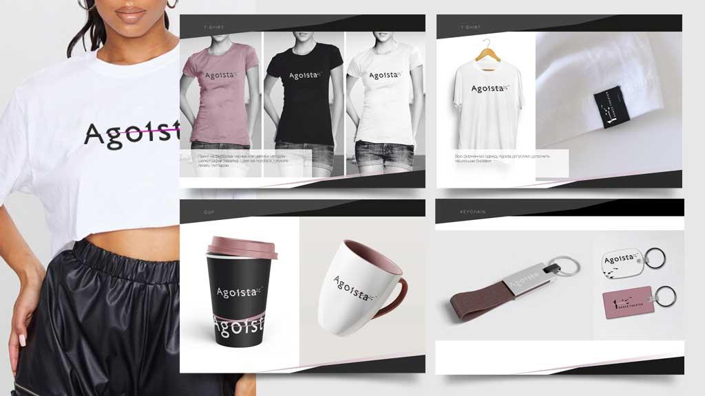Agoista brand book creating