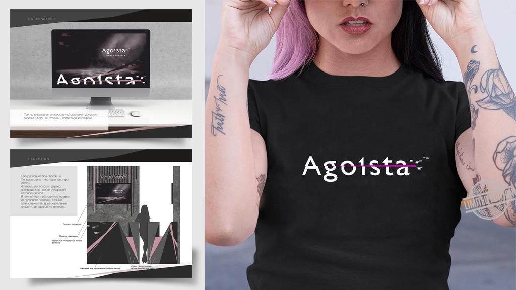Agoista brandbook pages