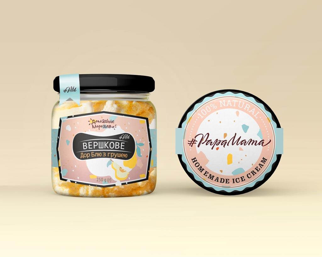 label design for PapaMama